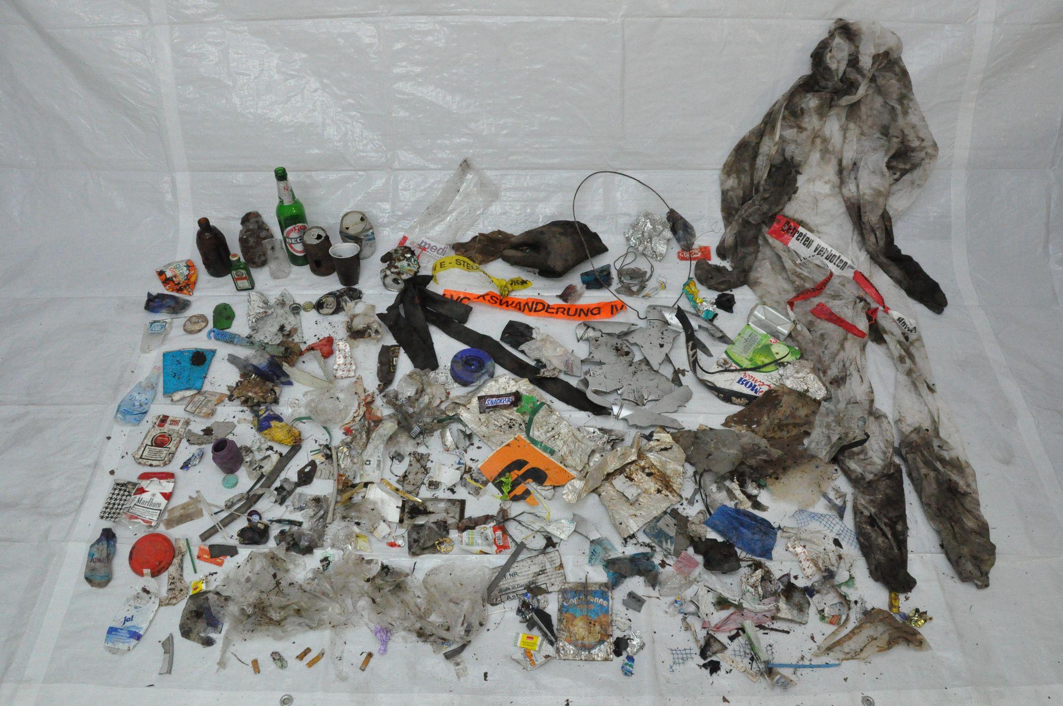 Müllwanderung 01 - Bild der Ausbeute